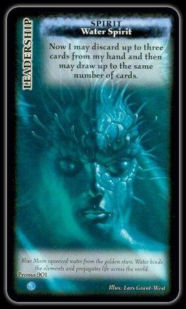 Blue Moon: Water Spirit