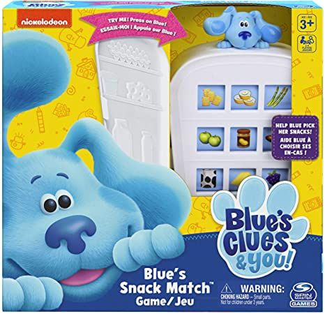 Blue's Snack Match Game