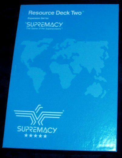 Supremacy: Resource Deck Two