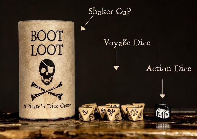Boot Loot: A Pirate's Dice Game