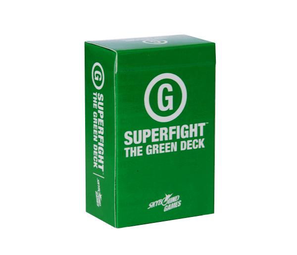 Superfight: The Green Deck