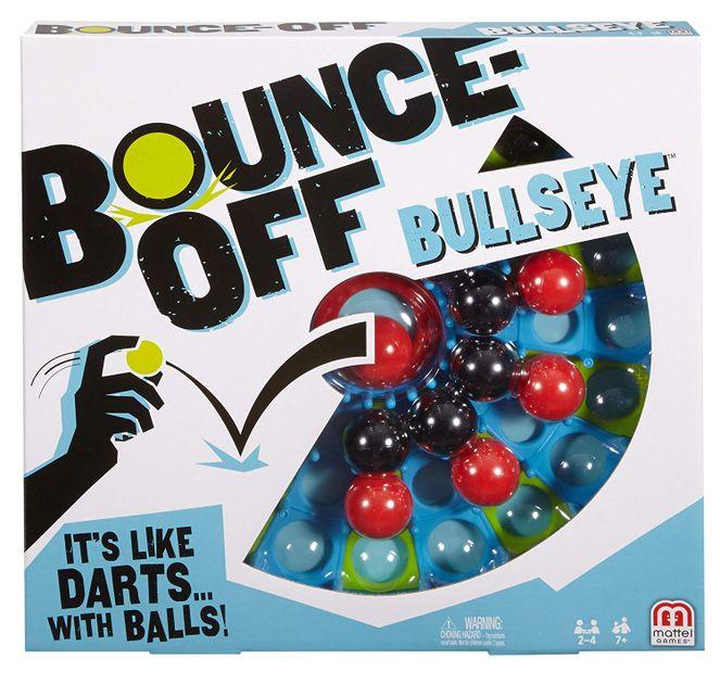 Bounce-Off Bullseye