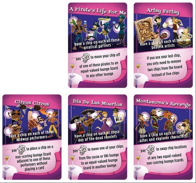 Swinging Jivecat Voodoo Lounge: Bonus Promo Cards