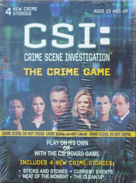 CSI: Crime Scene Investigation – The Crime Game