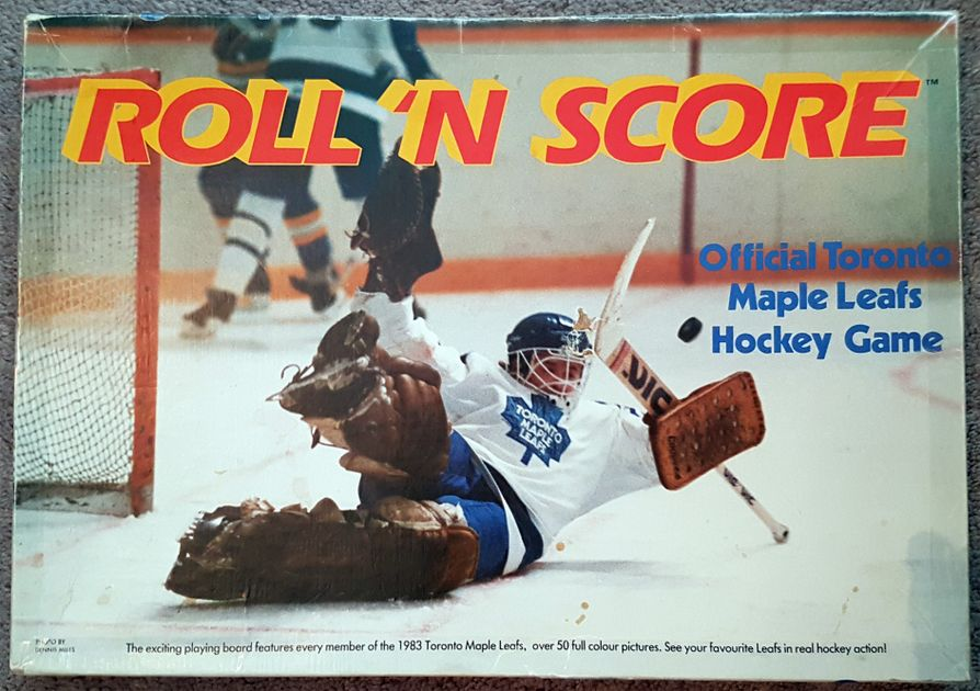 Roll 'N Score: Official Toronto Maple Leafs Hockey Game