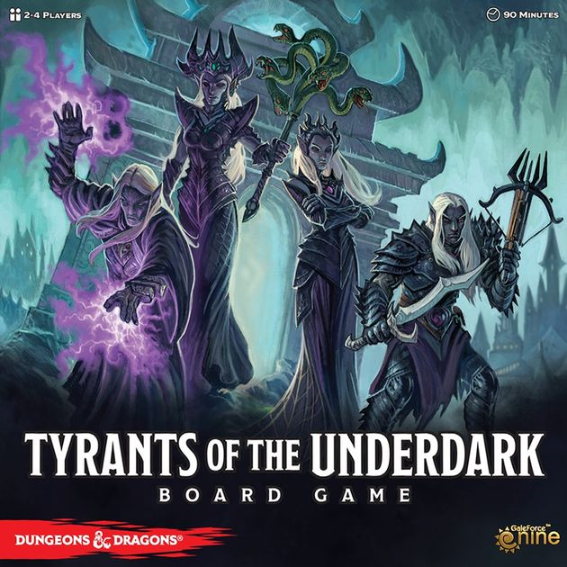 Tyrants of the Underdark Board Game