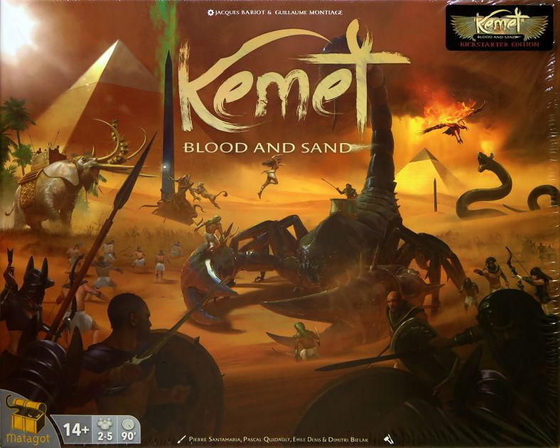 Kemet: Blood and Sand – Kickstarter Edition