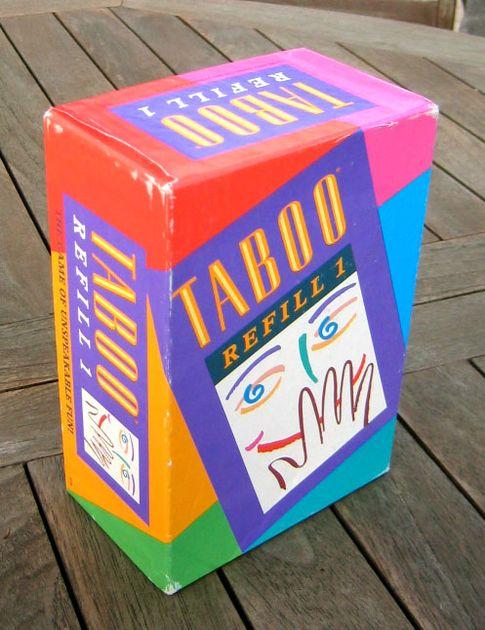 Taboo Refill