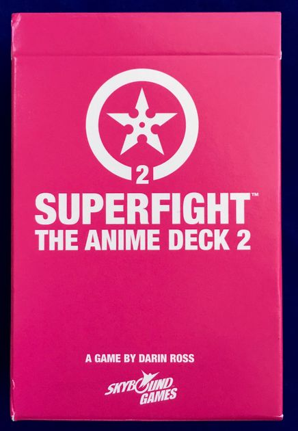 Superfight: The Anime Deck 2