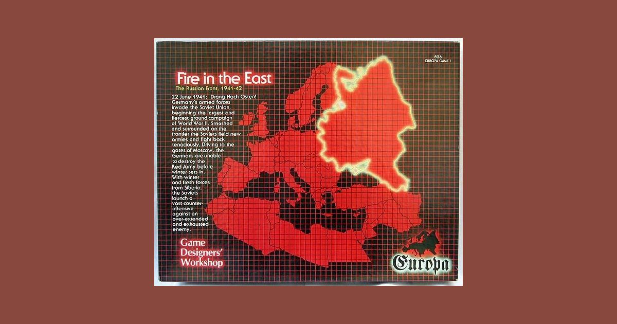 Fire in the East