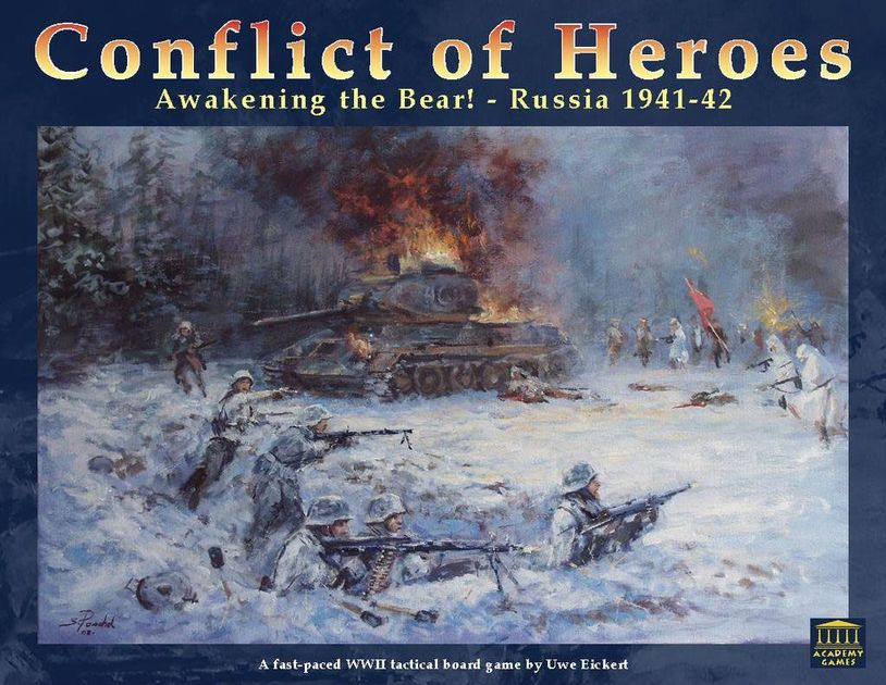 Conflict of Heroes: Awakening the Bear! – Russia 1941-42
