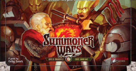Summoner Wars: Guild Dwarves vs Cave Goblins