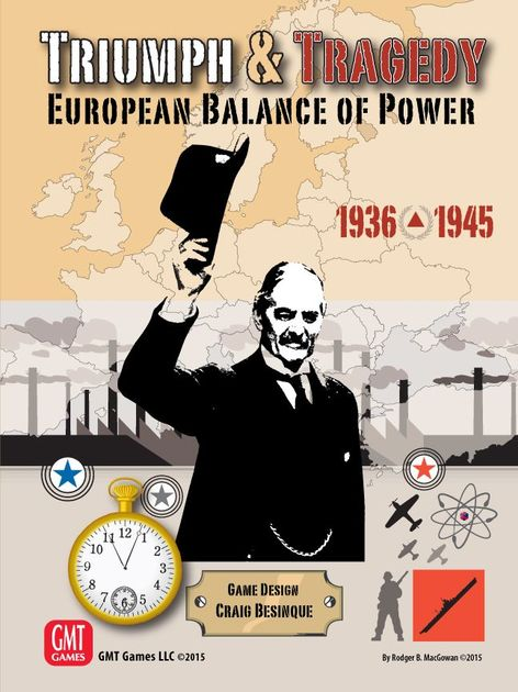 Triumph & Tragedy: European Balance of Power 1936-1945