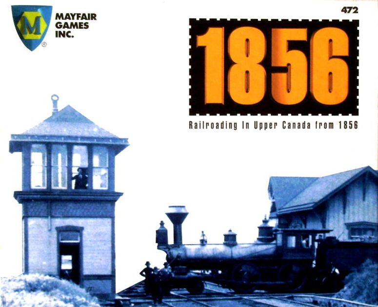 1856: Railroading in Upper Canada from 1856