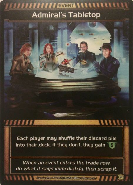 Star Realms: Admiral's Tabletop Promo Card