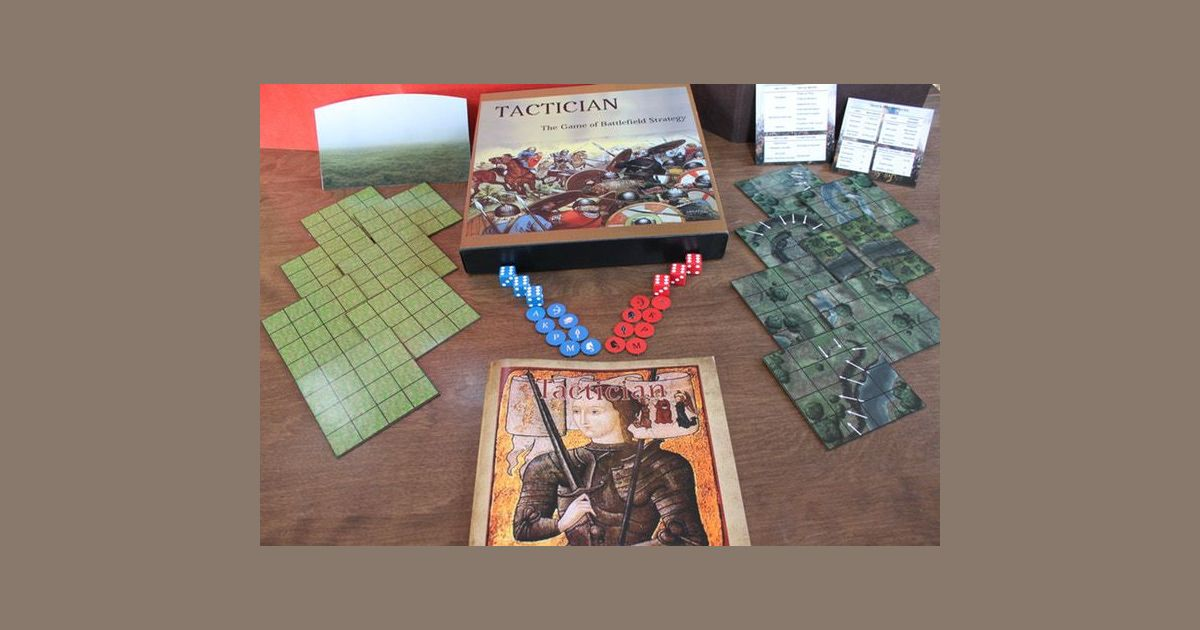 Tactician: the Game of Battlefield Strategy