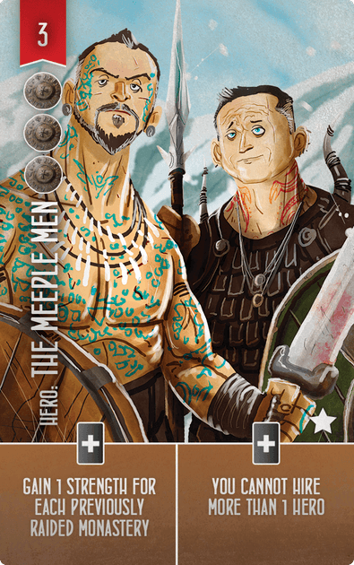 Raiders of the North Sea: The Meeple Men Promo Card
