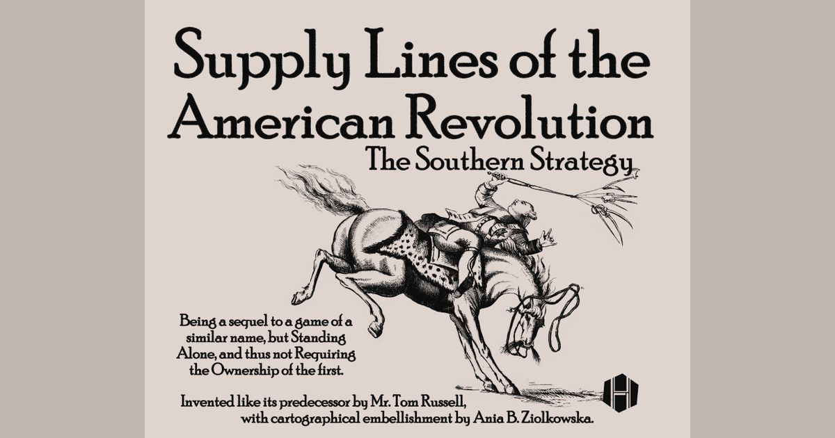 Supply Lines of the American Revolution: The Southern Strategy