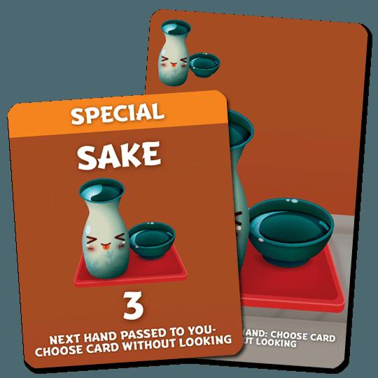 Sushi Go Party!: Sake Promo