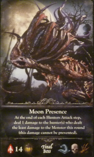 Bloodborne: The Card Game – Moon Presence