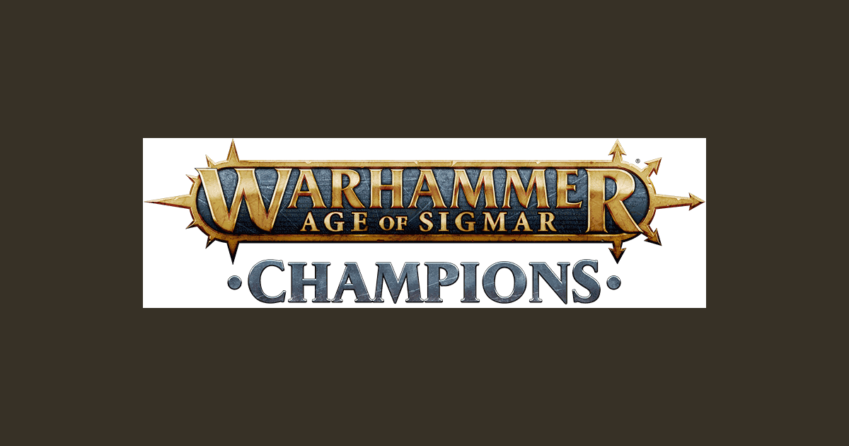 Warhammer Age of Sigmar: Champions Trading Card Game