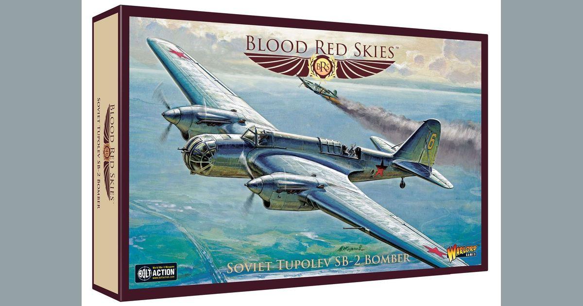 Blood Red Skies: Soviet – Tupolev ANT-40 (SB-2) Bomber