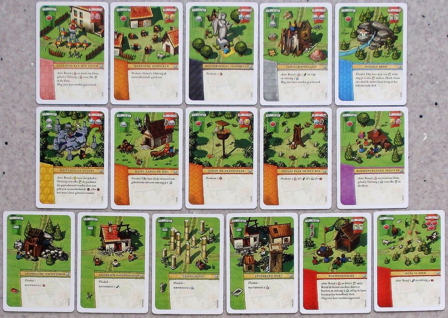 Imperial Settlers: Common Village Cards