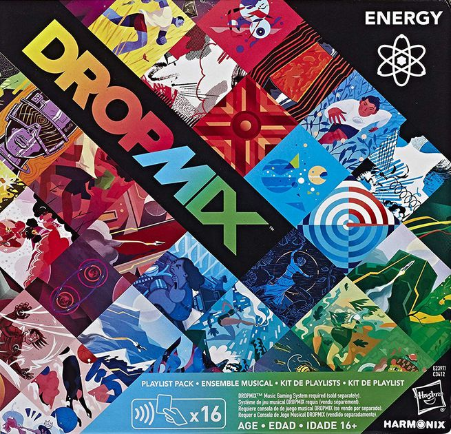DropMix: High-Energy Playlist Pack (Energy)