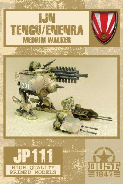 Dust 1947: IJN Tengu/Enenra Medium Walker