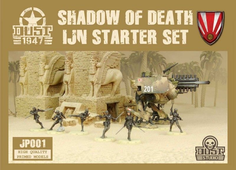 Dust 1947: Imperial Japan Navy Starter Set – Shadow of Death